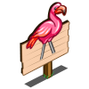 Lawn Flamingo Mastery Sign-icon