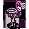 Skeleton Flamingo-icon