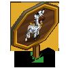 Zebra Costume Horse Mastery Sign-icon