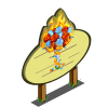 Fire and Ice Rose Tree Mastery Sign-icon