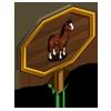 Irish Hunter Horse Mastery Sign-icon