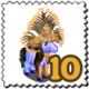 Rio Feather Pony Stamp-icon