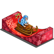 Sleigh Ride Monkey-icon