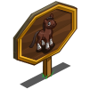 Dutch Warmblood Foal Mastery Sign-icon
