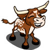 Western Longhorn Calf Happy-icon