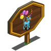 4th Birthday Unicorn Foal Mastery Sign-icon