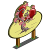 Anti Love Heart Tree Mastery Sign-icon