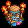 Luau Tiki-icon