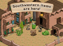 Southwestern items