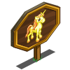 Apollo Unicorn Foal Mastery Sign-icon