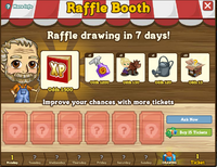 Raffle Booth Draw May 28 2012