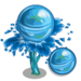 Water Sphere Tree-icon
