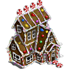 Gingerbread House (decoration)-icon