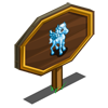 Icy Blue Pegasus Foal Mastery Sign-icon
