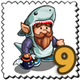 Shark O Gnome Stamp-icon
