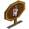 4th Birthday Pegacorn Foal Mastery Sign-icon