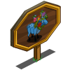 Blue Elk Mastery Sign-icon