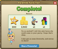 FarmVille Turns Two Complete