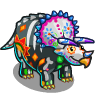 Festive Fossil Triceratops-icon