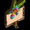 Iris Rainbow Mastery Sign-icon