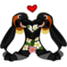 Kissing Penguins-icon