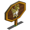 Athena Pegasus Mastery Sign-icon