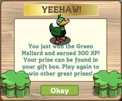 Green Mallard Notification