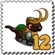Loki Weasel Stamp-icon