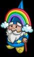 Rainbow Gnome-icon