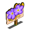 Royal Forget-Me-Not Mastery Sign-icon