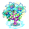Flower Crown Tree-icon