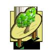 Green Hearts Tree Mastery Sign-icon