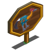 Junglefowlasaurus Mastery Sign-icon