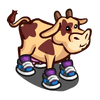 Sneaker Cow-icon