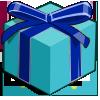Blue Mystery Box-icon