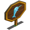 Blue Narwhal Mastery Sign-icon