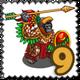 Eagle Warrior Gorilla Stamp-icon