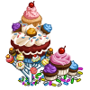 Cupcake Tree-icon