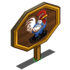 Gardener Chicken Mastery Sign-icon