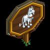 Gothic Unicorn Mastery Sign-icon