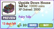 Upside Down House Market Info (July 2012)