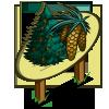 White Pine Tree (tree) Mastery Sign-icon