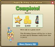 Happy Birthday to FarmVille Complete