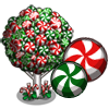 Mint Candy Tree-icon