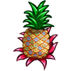Polka Pineapple-icon