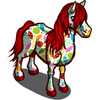 Quilted Pattern Horse-icon