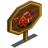 Red Chinese Dragon Mastery Sign-icon