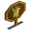 4 Leaf Clover Pegacorn Mastery Sign-icon