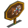 Earth Day Tiger Mastery Sign-icon