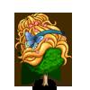 Hair Up Tree-icon
